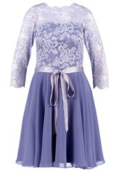 Swing Cocktail Dress Party Dress Lavenda Blue Purple