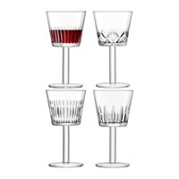 Lsa International Tatra Wine Goblet Set Of 4 Assorted
