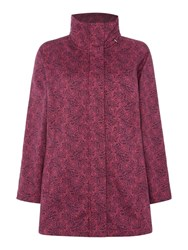 Tigi Fleece Lined Coat Purple