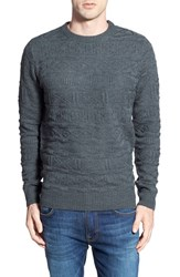 Men's Bellfield Textured Knit Crewneck Sweater