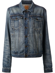 Joe's Jeans Oversized Denim Jacket Blue