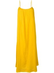 Essentiel Antwerp Saria Slip Dress Yellow
