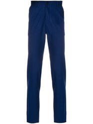 Christian Pellizzari Tailored Fitted Trousers Blue