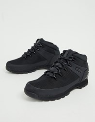 Timberland Euro Sprint Reflective Hiker Boots In Black Black