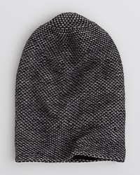 The Men's Store At Bloomingdale's Tweed Slouch Beanie Black Grey