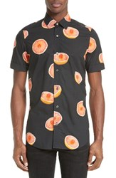 Paul Smith Men's Grapefruit Print Sport Shirt
