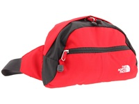 The North Face Roo Ii Tnf Red Asphalt Grey Backpack Bags