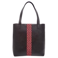 Popinjay Trinidad Tote Dark Brown