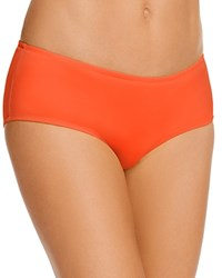 Vilebrequin Solid Water Hipster Bikini Bottom Poppy Red