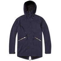 Paul Smith Down Filled Fishtail Parka Navy