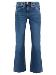 Mih Jeans Lou High Rise Flared Denim