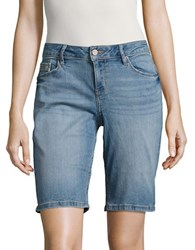 Ck Calvin Klein Denim Bermuda Shorts Blue