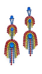 Elizabeth Cole Danica Statement Earrings Tropical