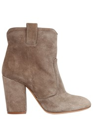 Strategia 90Mm Suede Pull On Ankle Boots