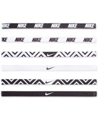 Nike Active Mini Headband Set Black White