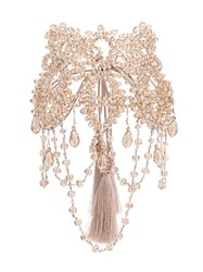 Night Market Crystal Beaded Necklace Nude And Neutrals