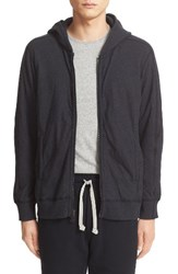 Wings Horns Men's Double Knit Zip Front Hoodie