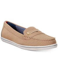 Tommy Hilfiger Women's Butter Penny Loafers Women's Shoes Sand