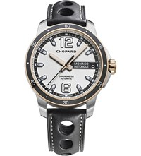 Chopard G.P.M.H. Automatic 18Ct Rose Gold Titanium And Stainless Steel Watch