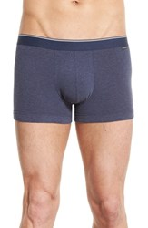 Nordstrom Men's Stretch Cotton Trunks Navy Grey Blue