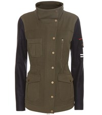 Veronica Beard Skyline Jacket Green
