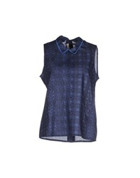 Sessun Shirts Shirts Women Dark Blue