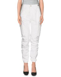 Up Jeans Trousers Casual Trousers Women White