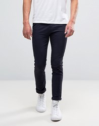 New Look Skinny Chinos In Navy Navy