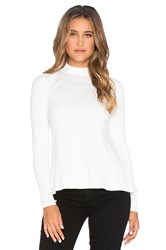 Rvca Common Law Long Sleeve Top White