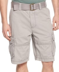 American Rag Belted Relaxed Big And Tall Cargo Shorts