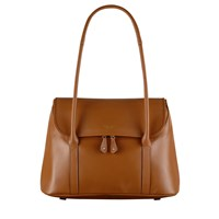 Radley Taplow Large Leather Shoulder Bag Tan