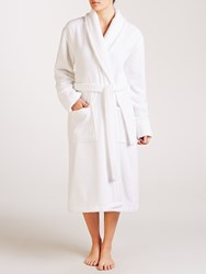 John Lewis Luxury Towelling Robe White