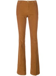 Pt01 Slim Fit Pants Cotton Spandex Elastane Nude Neutrals