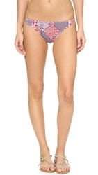 Minkpink Wild World String Bikini Bottoms Multi