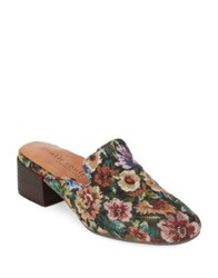 Gentle Souls Eida Floral Covered Mules