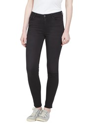 Fat Face Super Skinny Jeans Washed Black