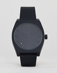 Adidas Z10 Process Silicone Watch In Black