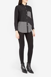 Paul Joe Women S Auranchie Patchwork Lace Shirt Boutique1 Black