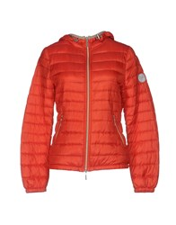 Jan Mayen Down Jackets Red