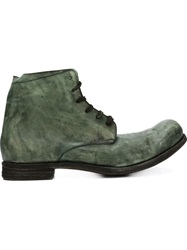 A Diciannoveventitre Ankle Boots Green
