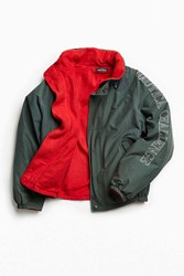 Urban Outfitters Vintage Nautica Holly Green Challenge Jacket Dark Green
