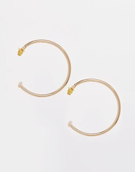 Warehouse Bar Detail Hoops Gold