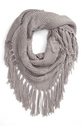 Women's Bp. Cable Knit Triangle Scarf