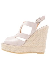 Kanna Wedge Sandals Taupe