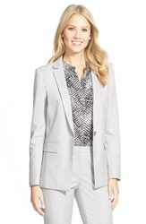Petite Women's Halogen 'Taylor Allison' Stretch Suit Jacket