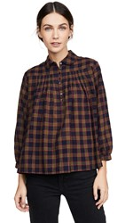 The Great Great. Lowland Top Splendor Plaid