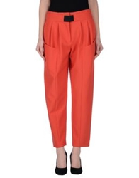Thakoon Addition Casual Pants Rust