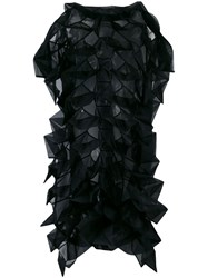 Comme Des Garcons Junya Watanabe Origami Front Dress Black