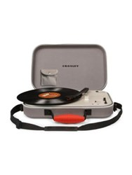 Crosley Messenger Three Speed Spinning Turntable Grey