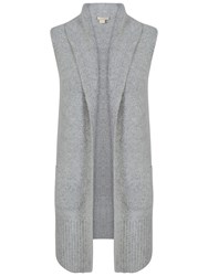 Celuu Lori Knitted Gilet Grey